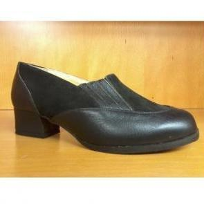 chaussures BEGONIA taille 41 cuir noir