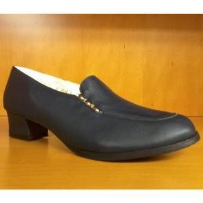 chaussures BIARRITZ CUIR taille 41 marine